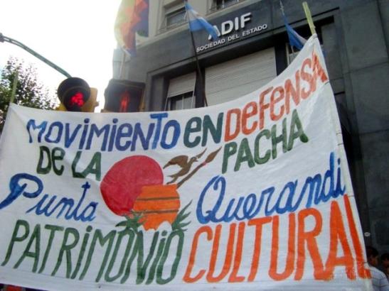 Protesta en ADIF realizada en el 2011. (Foto: Angela Flores)