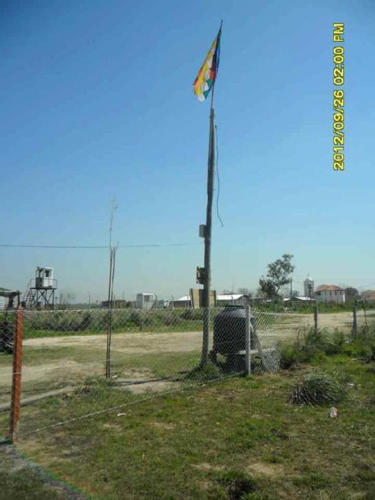 La foto es del segundo alambrado colocado por EIDICO en septiembre de 2012.