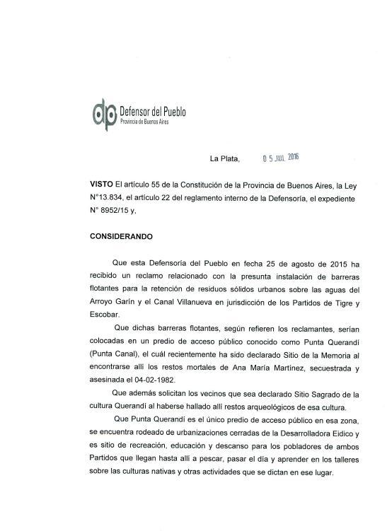 2016 - 07 Julio - Resolución 113-16 Defensoría del Pueblo de la Provincia_Página_1
