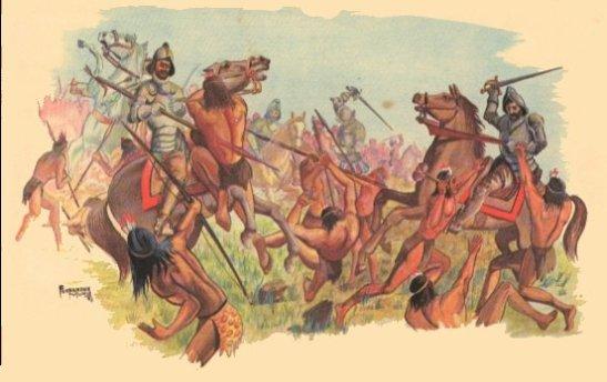 15 - Resistencia Indigena - batalla-de-san-gabriel-1574